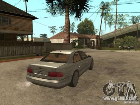 Audi A8 S-Line 2000 for GTA San Andreas right view