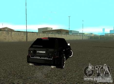 Land Rover Range Rover Sport Hamann for GTA San Andreas right view