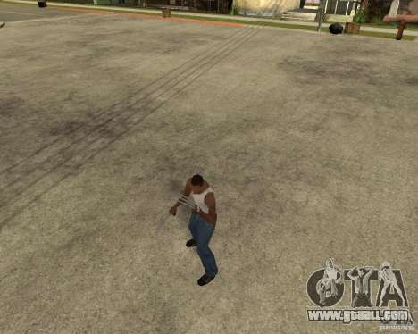 Wolverine mod v1 (Scooby-Doo) for GTA San Andreas