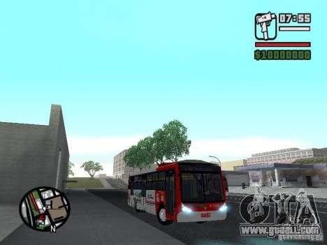 Caio Millennium TroleBus for GTA San Andreas back view