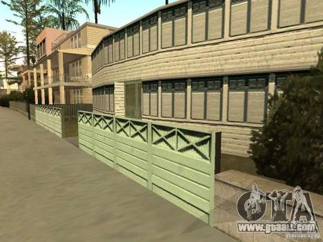 The modified House on the beach of Santa Maria 2 for GTA San Andreas third screenshot