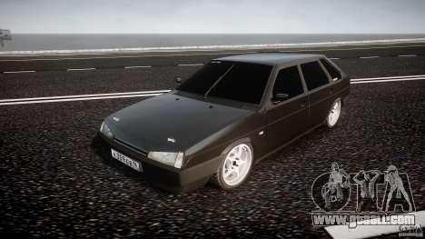 VAZ Lada 2109 for GTA 4 back view