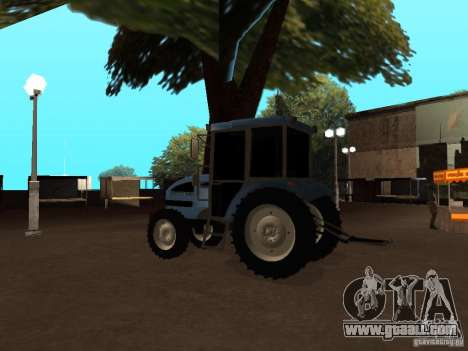 Tractor МТЗ 922 for GTA San Andreas right view