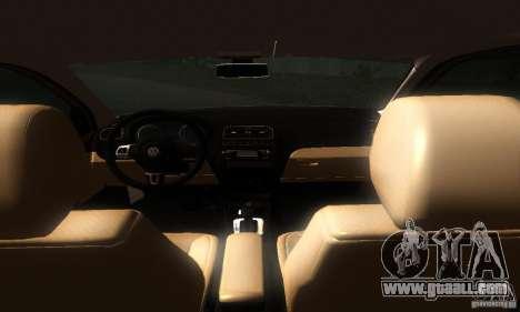 Volkswagen Polo 1.2 TSI for GTA San Andreas back view