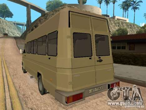 Iveco Turbo Daily for GTA San Andreas right view