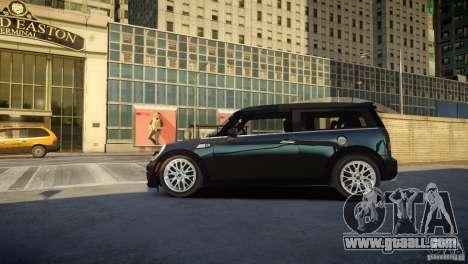 Mini Cooper Clubman for GTA 4 left view
