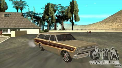 Ford Country Squire 1966 for GTA San Andreas back view