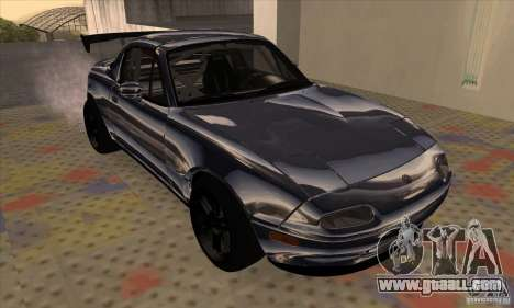 Mazda MX5 Style Drifting for GTA San Andreas left view