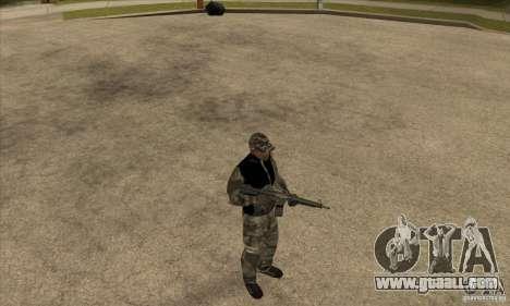 Camouflage clothing for GTA San Andreas third screenshot