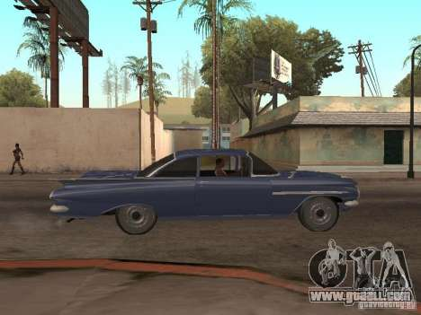 Chevrolet Biscayne 1959 for GTA San Andreas side view