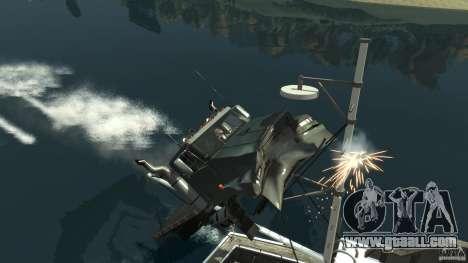 Biff boat for GTA 4 upper view