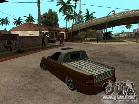 LADA 2170 Pickup for GTA San Andreas left view