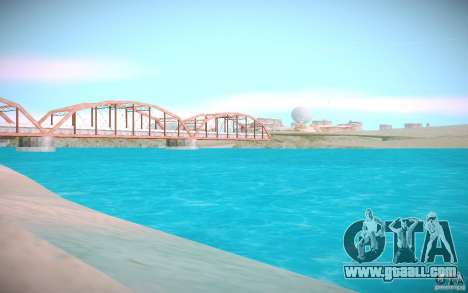 HD water for GTA San Andreas second screenshot