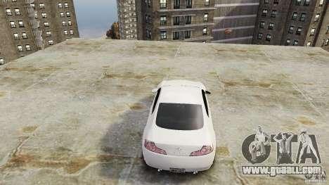 Infiniti G35 for GTA 4 back view
