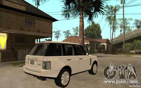 Range Rover Supercharged 2008 for GTA San Andreas right view