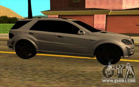 Mercedes-Benz ML63 AMG W165 Brabus for GTA San Andreas back view