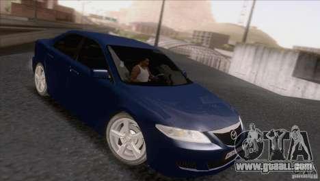Mazda 6 2006 for GTA San Andreas left view