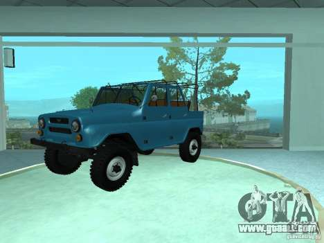 UAZ 469 for GTA San Andreas left view