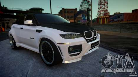 BMW X 6 Hamann for GTA 4 right view
