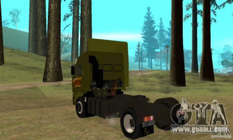 KAMAZ 5460 Skin 3 for GTA San Andreas right view