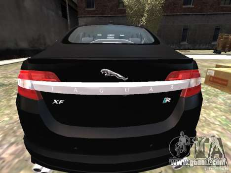 Jaguar XFR for GTA 4 right view