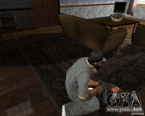 AK-47 upgraded for GTA San Andreas third screenshot