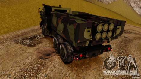 M142 HIMARS for GTA 4 back left view