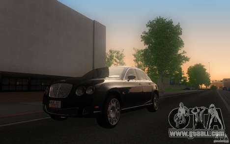 Bentley Continental Flying Spur for GTA San Andreas