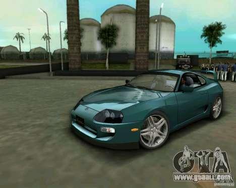 Toyota Supra for GTA Vice City