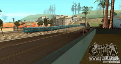 Metro type HEDGEHOG for GTA San Andreas right view