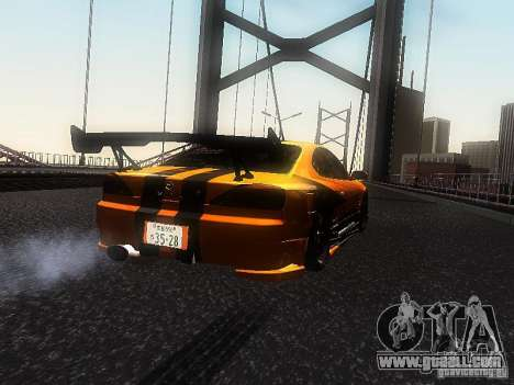 Nissan Silvia S15 ODT for GTA San Andreas left view