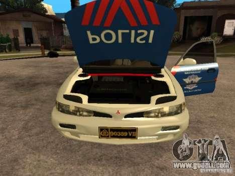 Mitsubishi Galant Police Indanesia for GTA San Andreas right view