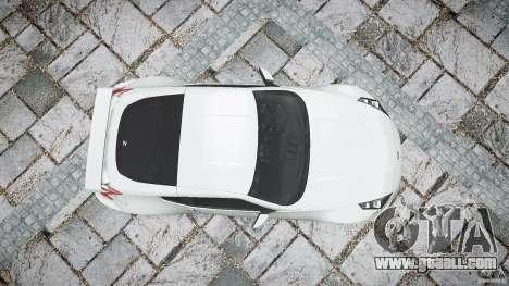 Nissan 370Z Nismo v1 for GTA 4 upper view