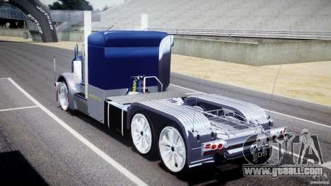 Peterbilt Truck Custom for GTA 4 side view