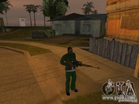 CLEO Weapons for GTA San Andreas third screenshot