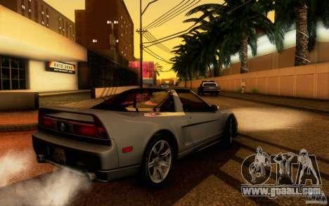 Acura NSX Targa for GTA San Andreas right view