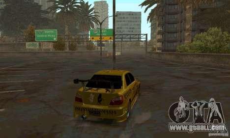 NFS Most Wanted - Paradise for GTA San Andreas sixth screenshot