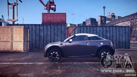 Mini Coupe Concept v0.5 for GTA 4 left view