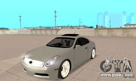Nissan Skyline 350GT 2003 for GTA San Andreas