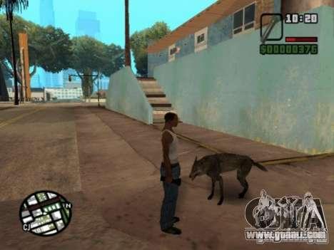 Animals in Los Santos for GTA San Andreas third screenshot