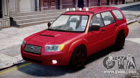 Subaru Forester v2.0 for GTA 4 left view