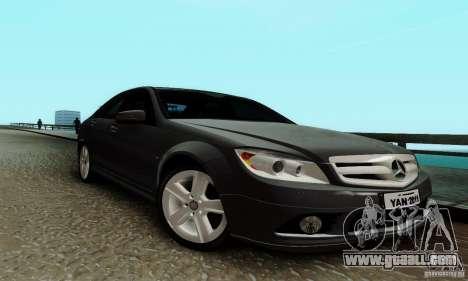 Mercedes-Benz C180 for GTA San Andreas left view
