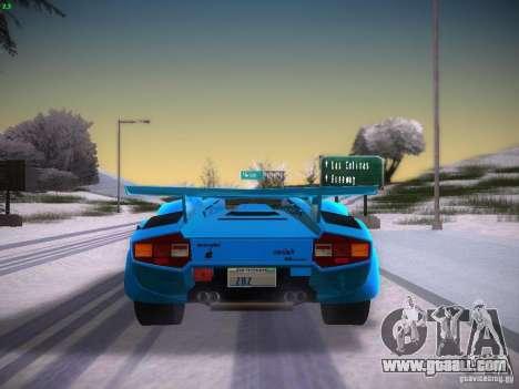 Lamborghini Countach LP5000 for GTA San Andreas right view