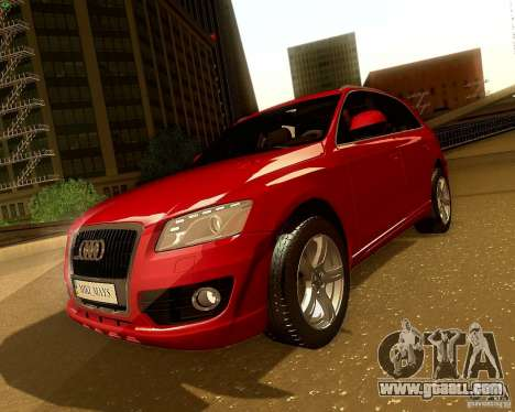 Audi Q5 for GTA San Andreas right view