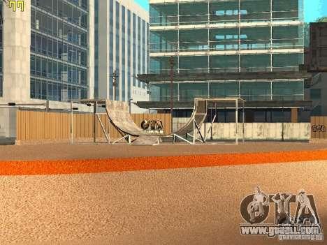 New SkatePark v2 for GTA San Andreas second screenshot