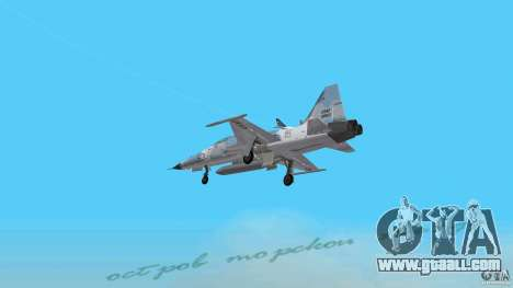 US Air Force for GTA Vice City left view