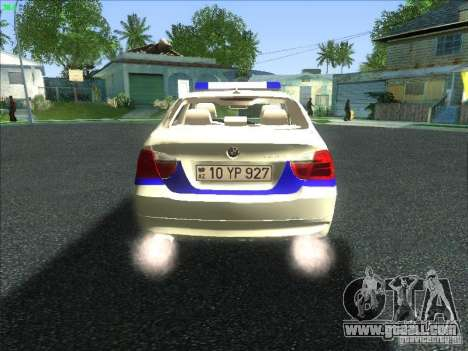 BMW 330i YPX for GTA San Andreas right view