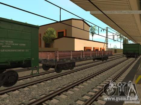 RAILROAD modification III for GTA San Andreas tenth screenshot