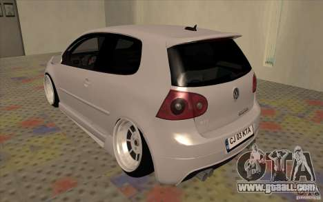 Volkswagen Golf Mk5 for GTA San Andreas right view