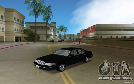 Ford Crown Victoria for GTA Vice City back left view
